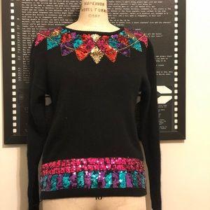 Sequin Vintage Sweater
